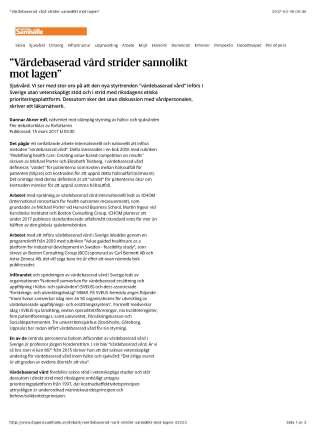 """""""Värdebaserad vård strider sannolikt mot lagen""""_Sida_1"""
