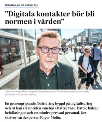 Digitala kontakter bör bli norm  .jpg